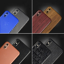 YIESOM 3D Carbon Fiber Skins Back Film For iPhone X XS 8 7 6S 6 Plus 3701b31f245a