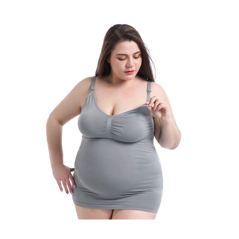 Plus Size Cotton Vest Maternity clothes Nursing Breastfeeding tops Summer Winter Nursing Tank Tops Vest for Pregnant Women