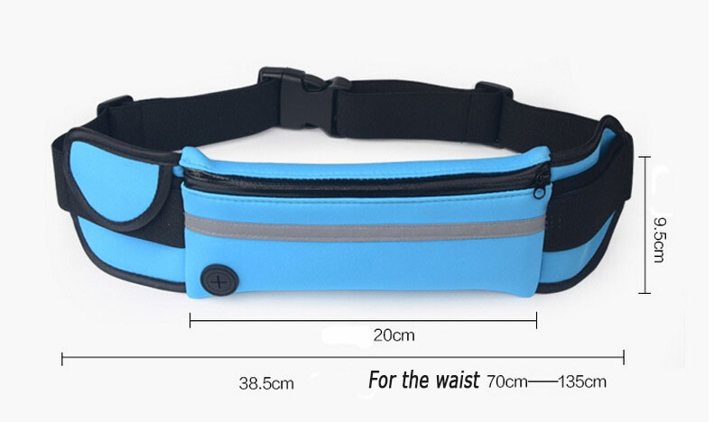 Outdoor Running Waist Bag Waterproof  Mobile Phone Holder Jogging Belt Belly Bag Women Gym Fitness Bag Lady Sport Accessories 13