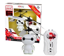 New 2015 Baymax Flying Resistant Shatter Mini Remote Control Aircraft 2Ch RC Helicopter Kids Electronic Toy