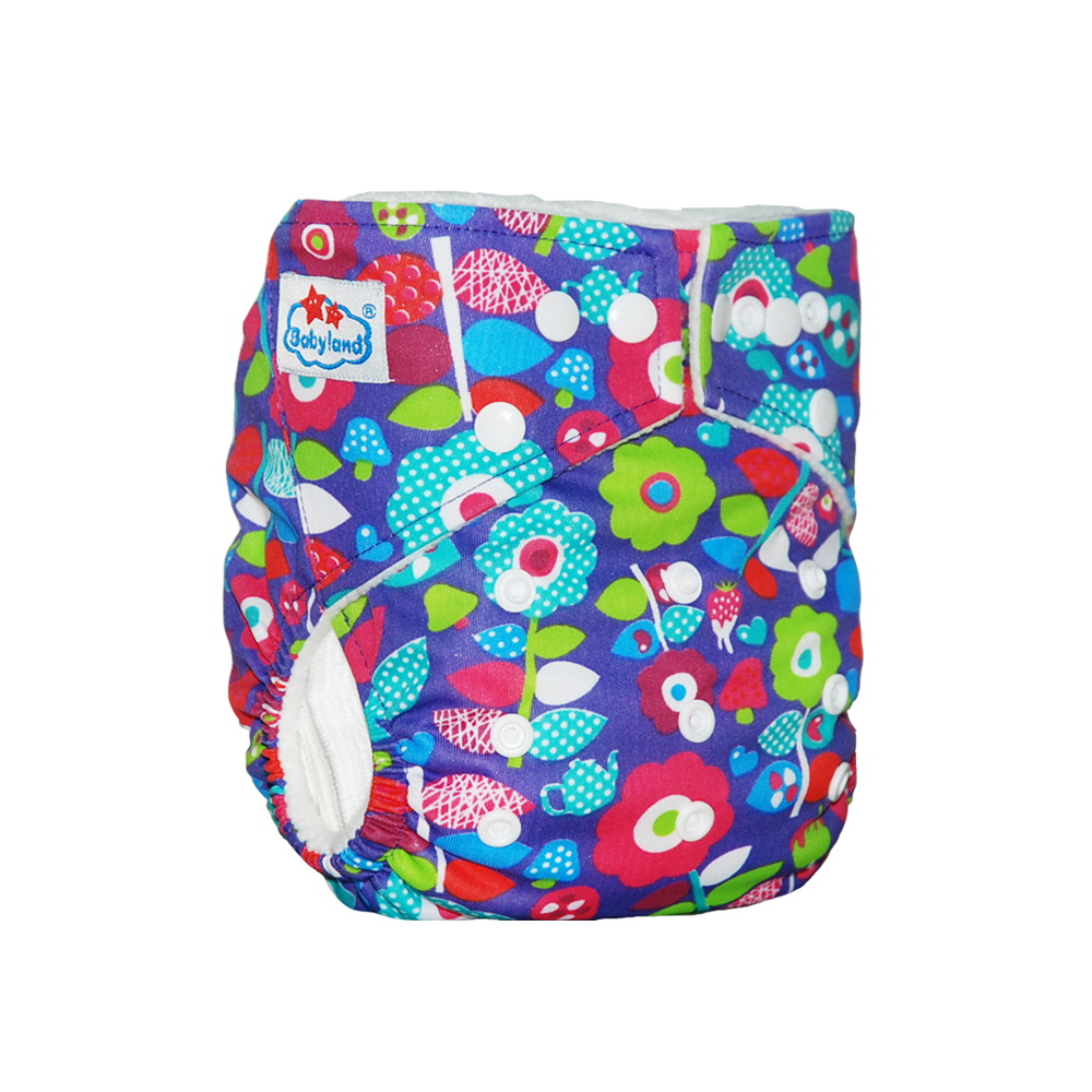 Babyland Cloth Nappy Diaper-Cover Washable 1PC Big-Discount B-Grade
