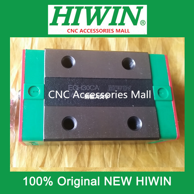 Original HIWIN EGH30CA Linear Guideways Rail Carriage Block for linear rails HGR30 original hiwin rail carriage block hgh25ha hiwin slider block for linear rails hgr25