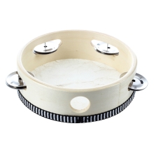 8Pcs 6″ Musical Tambourine Tamborine Drum Round Percussion Gift for KTV Party