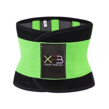 Heating Waist Fitness Belt Xtreme Power Shaper Pink Blue Black Green Thermo Trainer Corset Postpartum