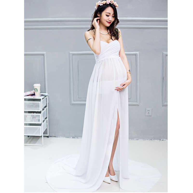 Maternity Dresses For Wedding.Chiffon Maternity Dresses Photography Props Party Homecoming Ladies Wedding Dresses Long For Photo Shoot Sexy Pregnancy Clothes