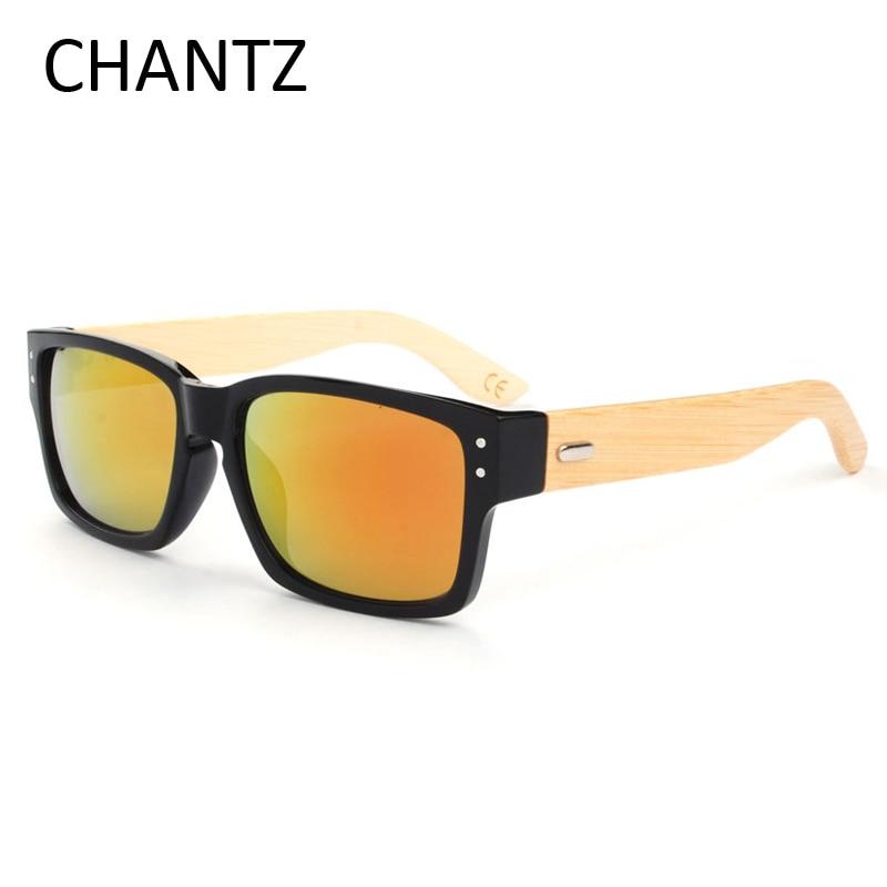 ∞Высокое качество натурального бамбука Солнцезащитные очки для ... d702ae924e9