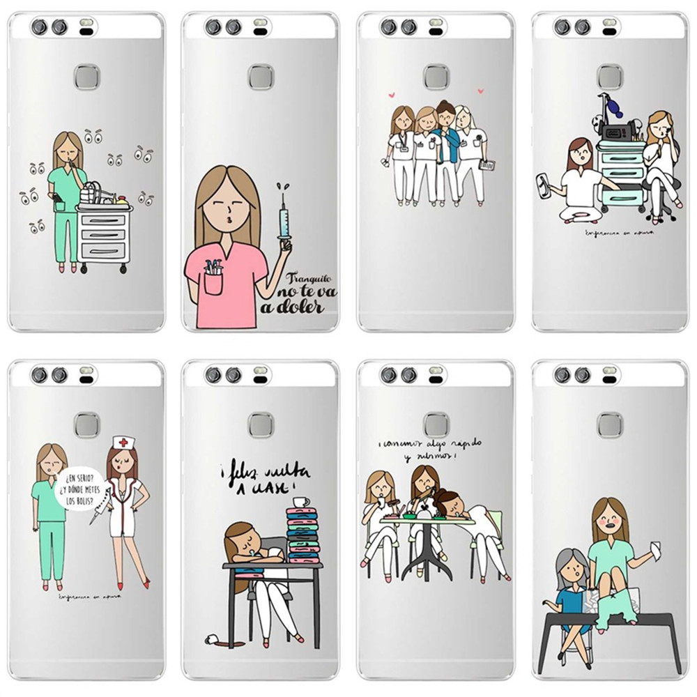 022fg Cartoon Medicine Nurse Doctor Dentist Soft Silicone Tpu Cover Case For Huawei P20 Lite Mate 20 Lite Cellphones & Telecommunications