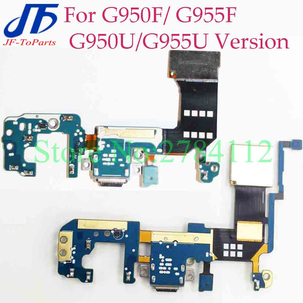 30Pcs replacement For Samsung S8 G950F G950U S8 plus G955F G955U charger charging connector usb dock