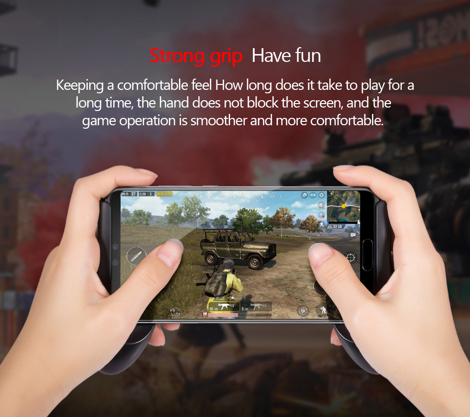 2.Original Huawei Gamepad Rock Space Newest ABS material Phone Accessories Game Controller with hook For IPhone Android Mobile Phone