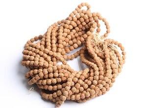 Image 2 - Graines de Rudraksha Bodhi, 10 brins, vraies naturelles, 6mm, 7mm, 8mm, 9mm, 10mm, 11mm, 12mm, livraison gratuite