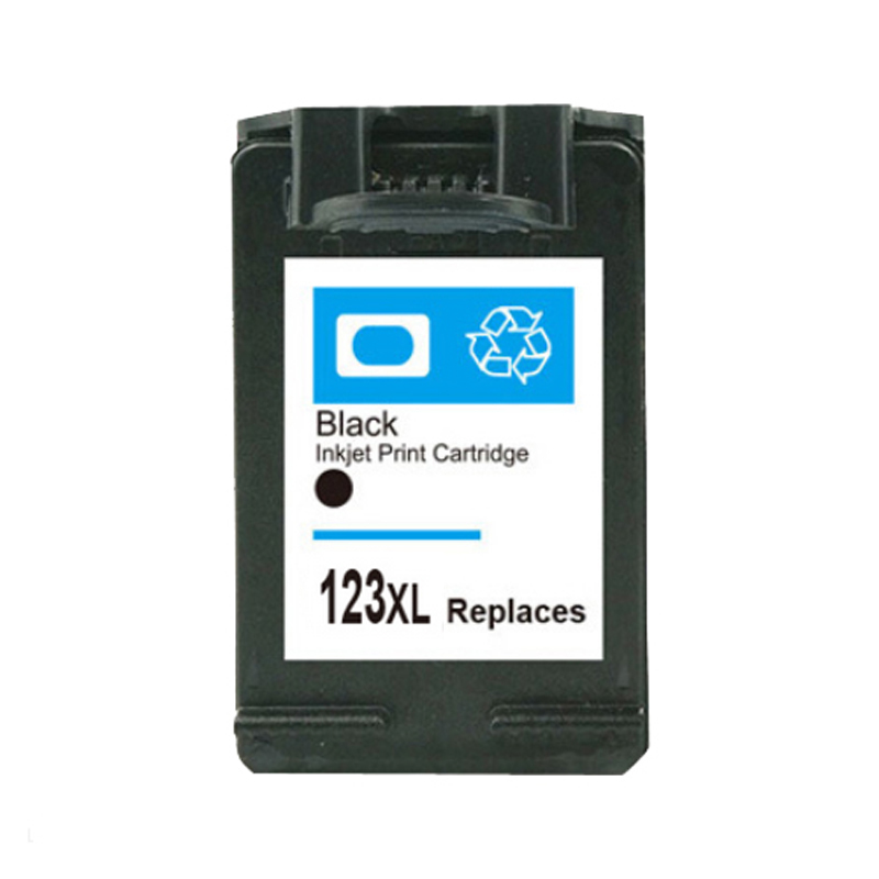 For HP 123 Black Ink cartridge For HP123 xl 123xl Deskjet 2130 2132 3630 3632 1110 1111 1112 Printer 1pcs tri color remanufactured ink cartridge cc644ee for hp300xl hp300 deskjet d1660 d2500 2560 photosmart c4635 c4680 c4780 4688
