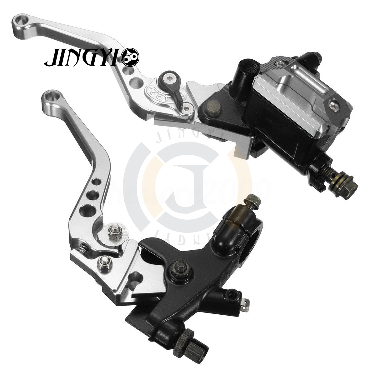 7/8 CNC Master Cylinder Cover Motorcycle Clutch Brake Lever FOR BMW R NINE T GSX-S1000 KTM EXC 300 BMW R1200GS LC SPORTSTER hot sale motorcycle accessories 7 8 hydraulic levers cnc motocross brake master cylinder lever for ktm 105sx 2009 2010 2011