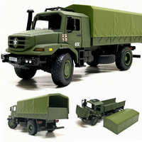 High quality 1:36 alloy military transport truck model,simulation boy off road toy car model,collection ornaments,free shipping