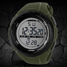 2015 de Los Hombres calientes Impermeables LED Banda de Silicona Reloj de Cuarzo Relojes Deportivos Hombres 4D3W 6T35 smt 89