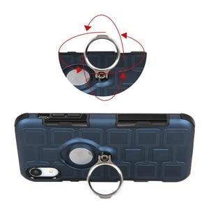 Image 4 - Phone case for dirt resistant Shockproof Kickstand four corner Protection Case DropTest for Huawei P20 P30 Pro Lite Y6 Y7 Y9 Nov