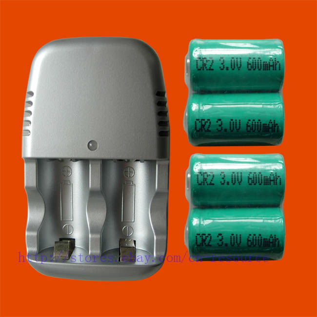все цены на 4 x Rechargeable CR2 CR-2 15270 Battery +quick Charger