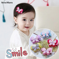 2017 For Children Hair Bows Hairpins Accessories Baby Girl Clips Combo