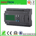 Ethernet PLC,ideal solution for remote control& monitoring &alarming applications ,Built-in Ethernet capability,ELC-22AC-R-N