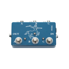 Colorful electric guitar looper pedal 3 channel selection effects swithc ABY box pedals for guitar lover hand made loop electric guitar effect pedal looper true bypass 3 looper switcher guitar pedal hr 1
