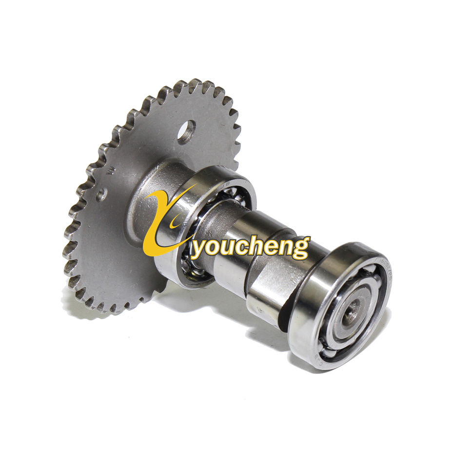 Camshaft <font><b>GY6</b></font> <font><b>50cc</b></font> 80cc Chinese Scooter Moped ATV 139QMB 139QMA <font><b>Engine</b></font> Cam Shaft Repair <font><b>Parts</b></font> TLZ-GY650 image