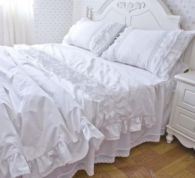 YY Luxury bedding set white custom pillow cover