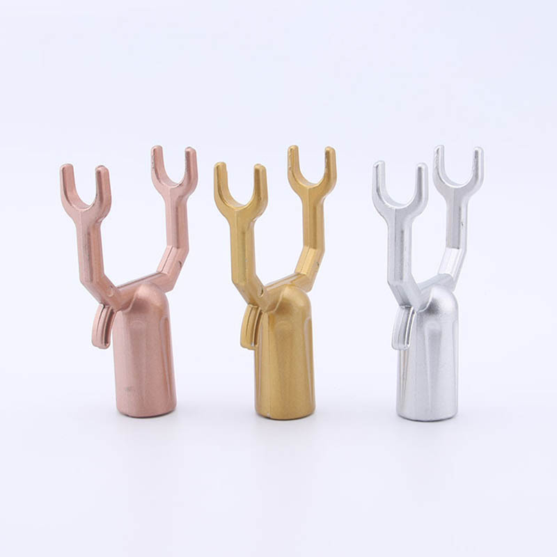 1 Pc Aluminium Alloy 3 Colors Clothes Rack Durable Home Accessories Laundry Hanging Fork Portable