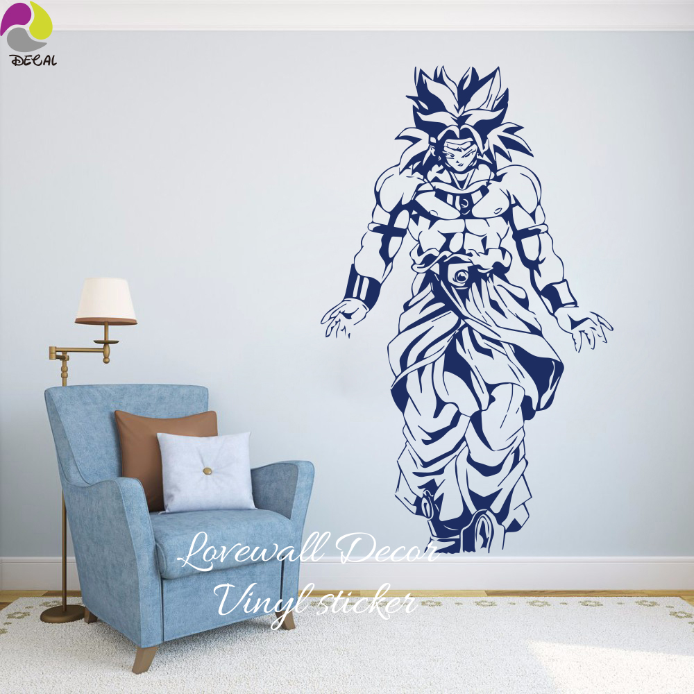 Janpanese cartoon dragon ball z dbz wall sticker kids room super janpanese cartoon dragon ball z dbz wall sticker kids room super saiyangohan goku anime wall decal vinyl home decor in underwear from mother kids on amipublicfo Images