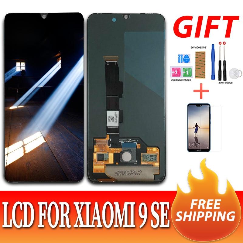 Original pour Xiao mi mi 9 mi 9 LCD affichage testé écran tactile numériseur assemblée pour mi 9 SE LCD affichage mi 9 écran remplacement