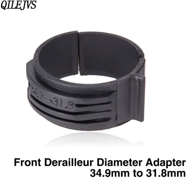 Bicycle Front Derailleur Braze-on Clamp Band Adapter 31.8mm Clamp Clip Anti-slip
