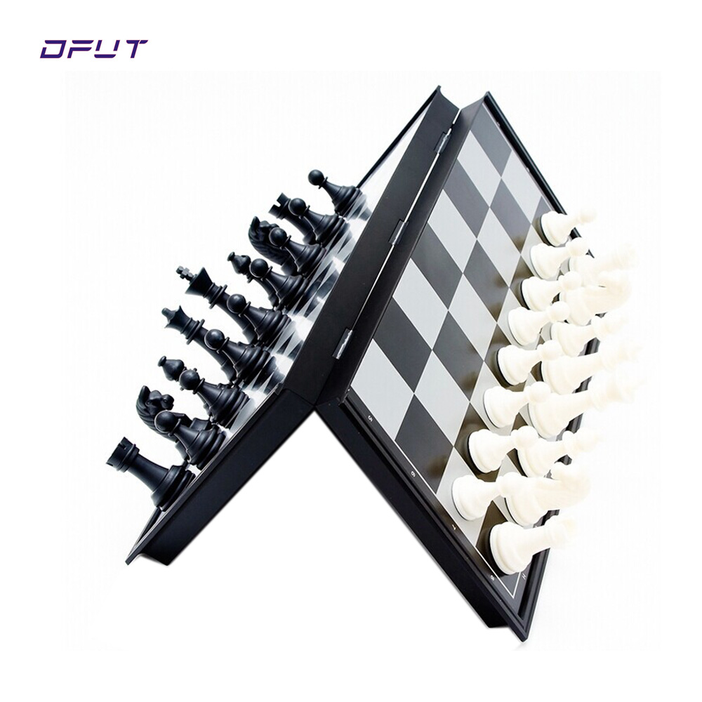 International Word Chess Game Medieval Folding Chess Pieces/ Complete Chess Set Entertainment 32mm*195mm