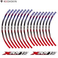 KODASKIN Wheel Rim Stripe Stickers for HONDA X ADV XADV 750