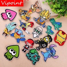 VIPOINT embroidery cartoon patches animal badges applique for clothing YX-11