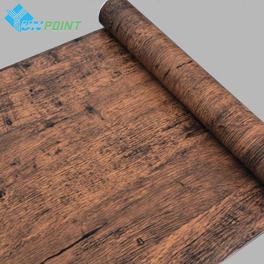 5 м10 м пвх самоклеющиеся обои рулон древесины зерна Diy наклейки современная мебель для домашнего интерьера деревянная дверь рабочего стола