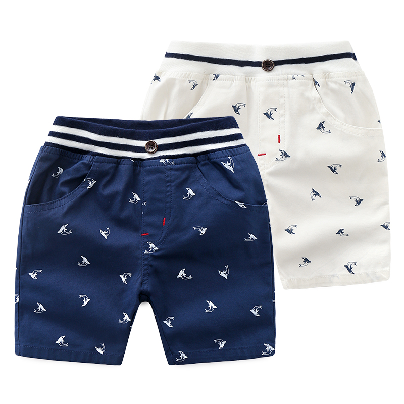 Baby Boys   Shorts   Children Clothes Casual Pants Beach   Shorts   Boys Kids Clothing Printed Pants For Kids Summer   Short   3-8T