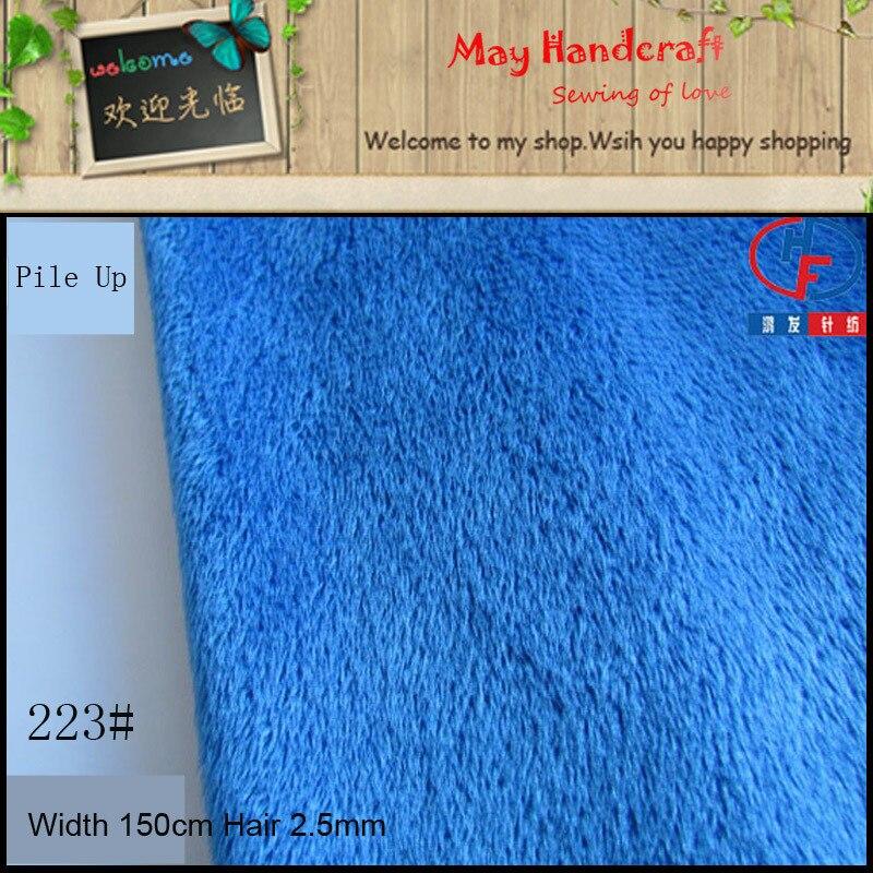 90 Цвета очень мягкое флисовое Ткань твердые короткие волосы плюшевые Ткань S, DIY для вещи игрушки/детская одежда, смешать Цвет доступны