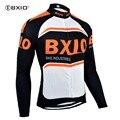 BXIO зимняя теплая флисовая куртка с длинным рукавом из флиса для мужчин Chaleco Ciclismo ветрозащитная дешевая велосипедная Джерси Ropa Ciclismo 007-J