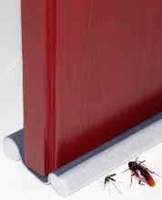 flexible door Bottom sealing strip Guard Wind Dust Threshold Seals Draft Stopper Twin Door Decor Protector Doorstop Draft