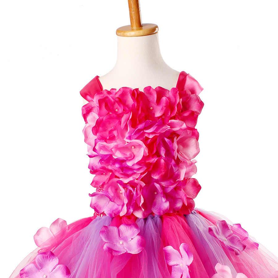 Photo Prop Baby Pageant Dress Birthdays Easter Tutu Dress Weddings Adorable Pink Lemonade Hydrangea Tutu Dress
