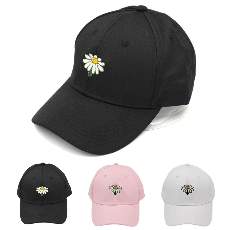 91c07869680db New hot fashion sunflower men s and women s baseball cap spring summer  ladies summer hat solid Snapback hat wholesale dad hat