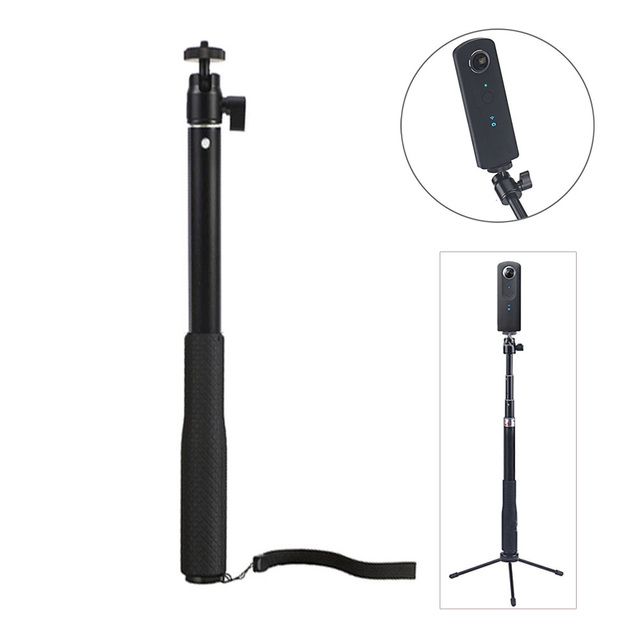 For Insta 360 One Handheld Telescopic Selfie Sticks Monopod For Smooth GoPro HERO6 5 4session Insta360 xiaomi yi 4k lite camera
