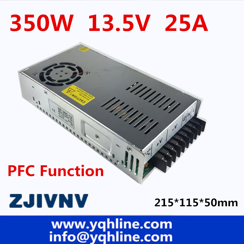 ac to dc SMPS PFC function 350w switching power supply 13.5V 25a led driver source switching power supply 13.5volt ac to dc smps pfc function 350w switching power supply 13 5v 25a led driver source switching power supply 13 5volt