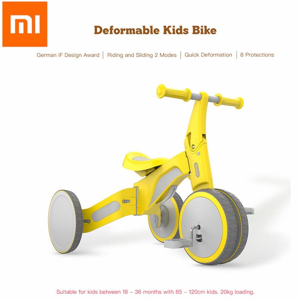 Youpin TF1 vélo double Mode déformable pour bébé 18-36 mois cadeau cadeau d'anniversaire enfant
