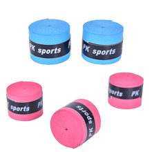 Anti-skid Sweat Absorbed Wraps Taps Dry Tennis Racket Grip Badminton Grips Racquet Vibration Overgrip Sweatband Hot Sports(China)
