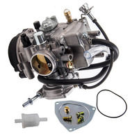 Carburetor Fit Yamaha YFM 400 Big Bear 2007 08 2009 2010 2011 2012 Carb 2x4 for Wolverine Kodiak Grizzly 350 400 450 Carbureter