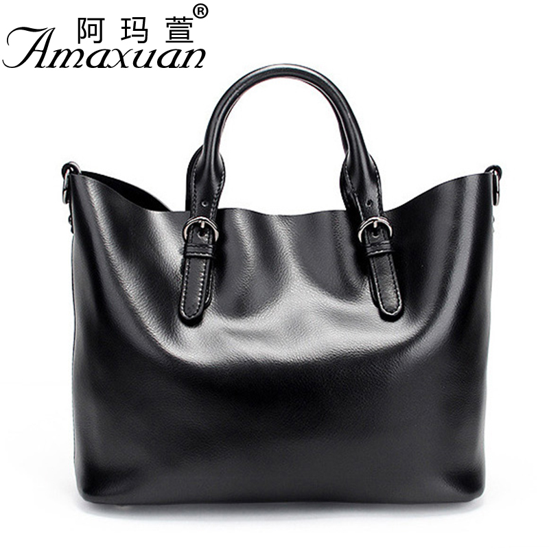 2017 new Genuine leather handbag fashionable luxury handbag designer large capacity women messenger shoulder bag BBH1165