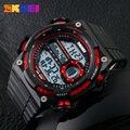 Skmei mens led digital del reloj de los hombres relojes deportivos relogio masculino relojes de marcación gran marca de moda relojes de pulsera militares