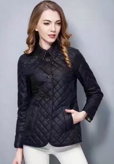 Big Promo High Quality M-3XL 2018 New Spring and autumn Women Cotton Quilted Jacket Slim Fit Parkas Outerwear Female Winter jacket Coats