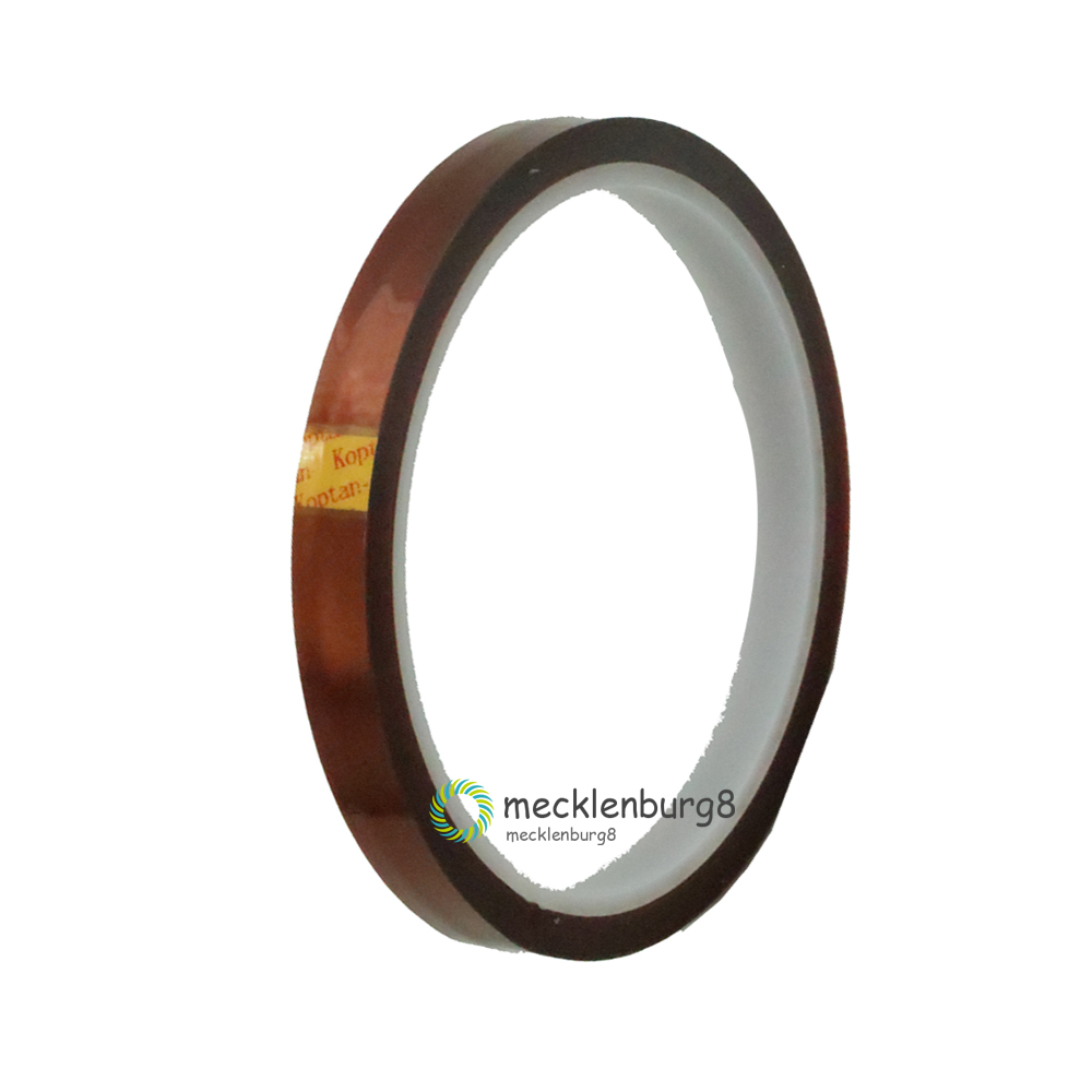 Hot Sale 10mm 100ft BGA One-side Self-adhesive High Temperature Heat Resistant Polyimide Gold Tape Soldering Shielding