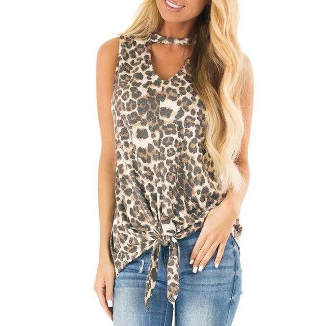 71de84716711 Shein moda Sexy mujeres Tank Tops haut femme estampado leopardo serpiente  suelta Vintage gasa Casual 2XL Vibe Modis señoras L * 5