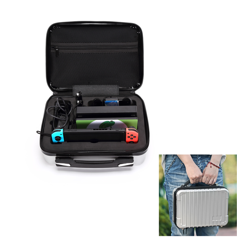 Portable Storage Bag for Nintend Switch Nintendos Switch Console ABS Durable Nitendo Case for NS Nintendo Switch Accessories
